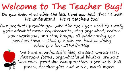 GREAT WEBSITE WITH PRODUCTS TO HELP TEACHERS GET ORGANIZED!