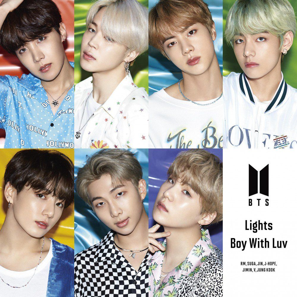 Check Out The Album Covers For Bts Upcoming 10th Japanese Single Lights Boy With Luv Allkpop Japanese Singles Bts Boys Bts Group