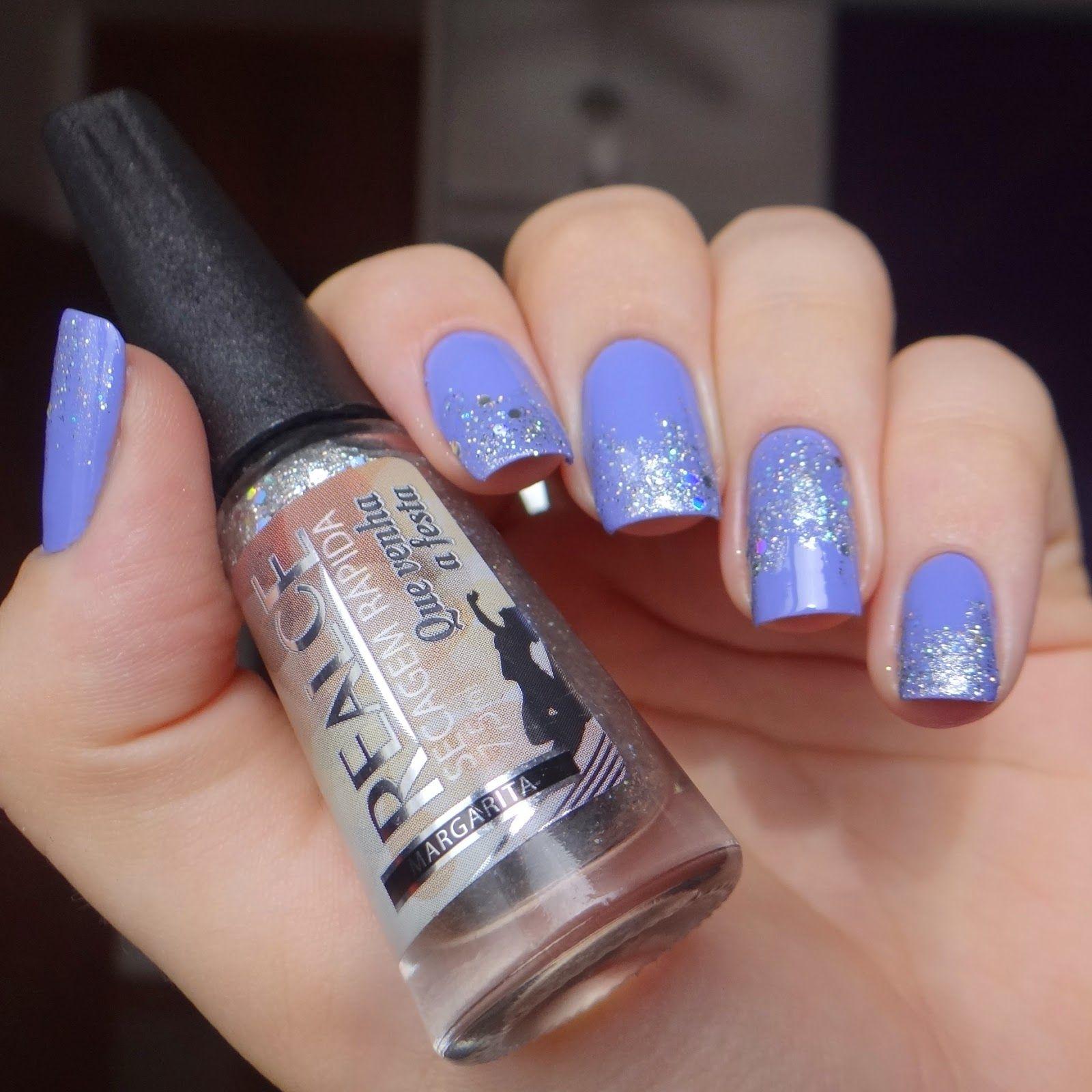 Esmalte Joan da Granado + Margarita da Realce. Lillac, violet nails ...