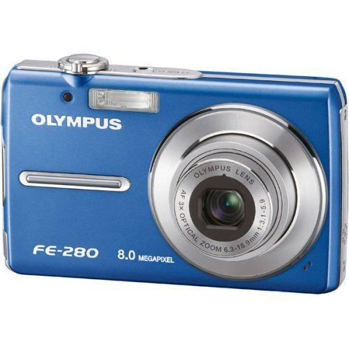 olympus stylus fe 280 8mp digital camera with dual image stabilized rh pinterest com Olympus Fe 340 olympus fe-280 camera manual