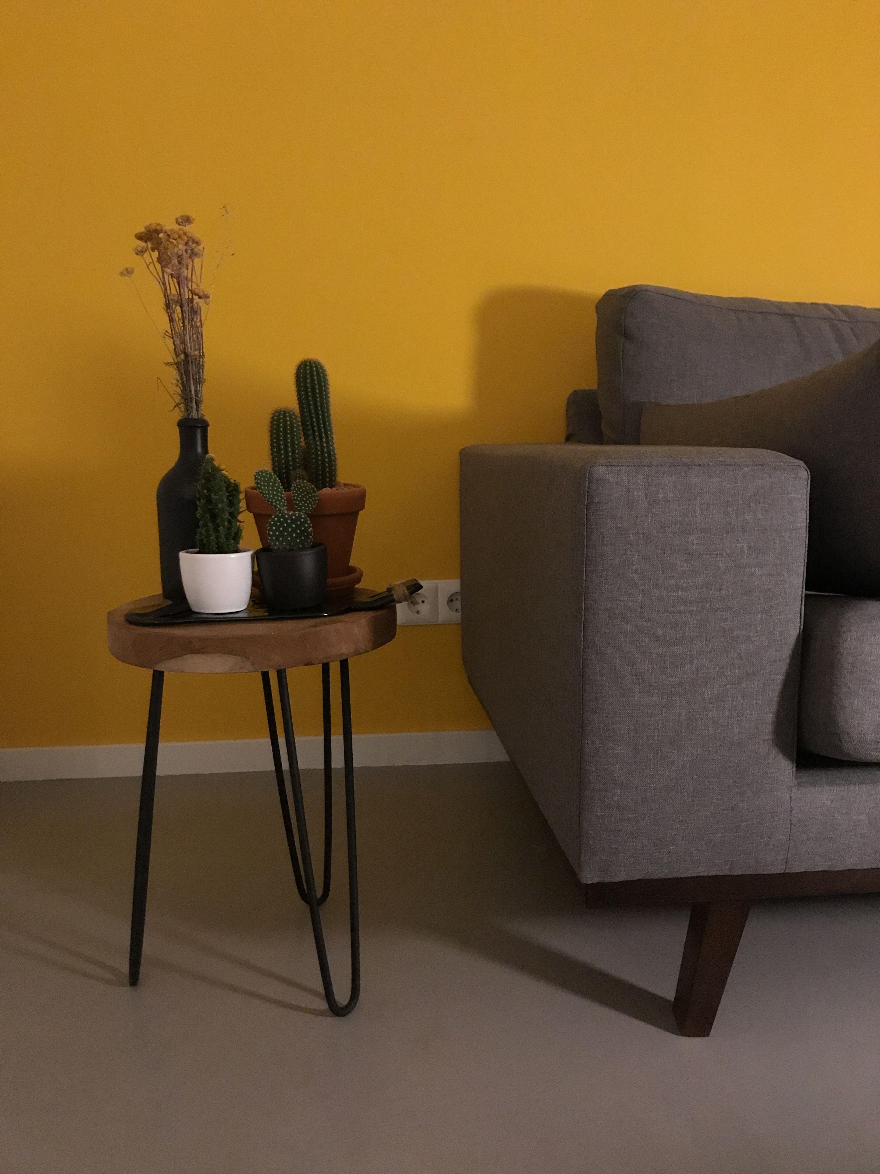 geel #woonkamer #cactus | Myhome | Pinterest - Cactus en Geel