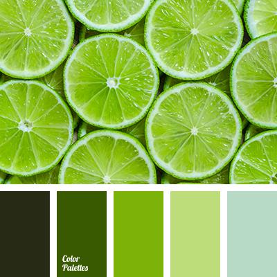 Color Palette 3748 Green Schemes