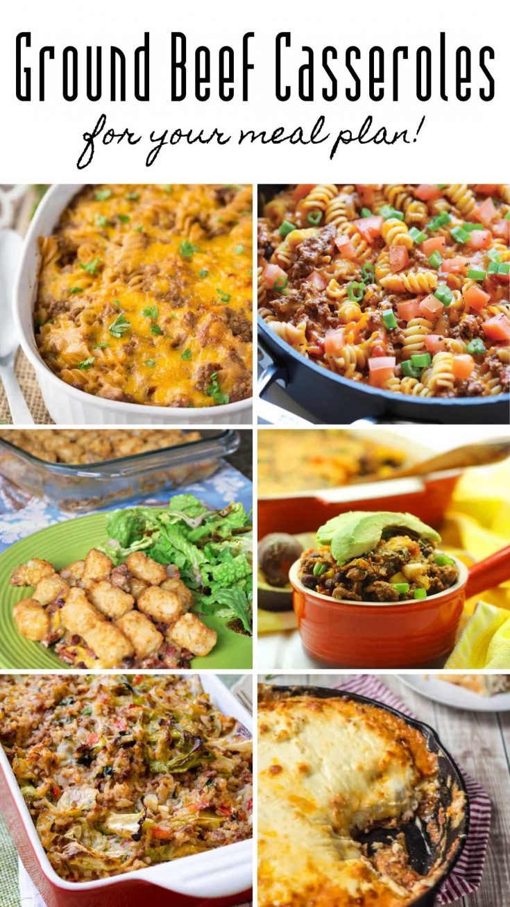 22 Easy Ground Beef Casserole Recipes For Budget Friendly Midweek Meals Beef Casserole Recipes Ground Beef Casserole Recipes Ground Beef