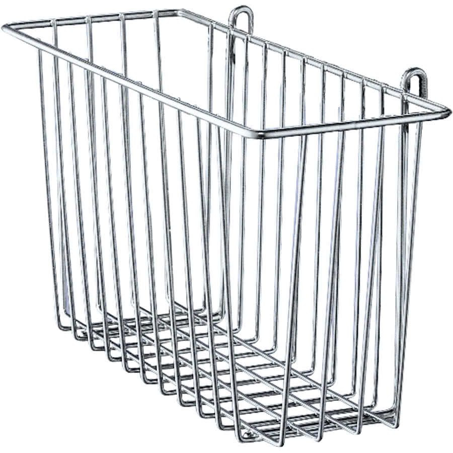 Metro H212C Chrome Storage Basket for Wire Shelving 17 3/8