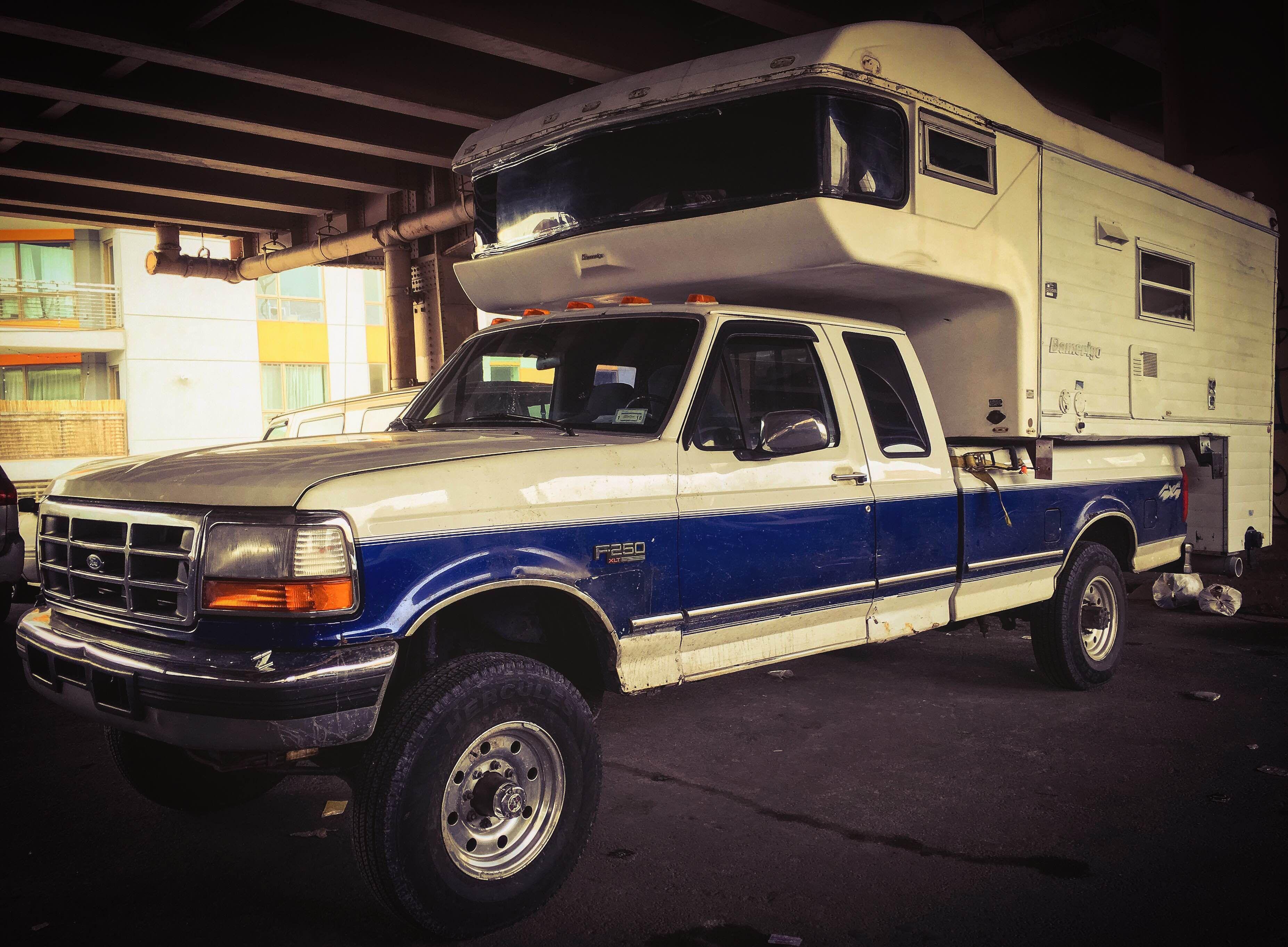 1972 Amerigo Truck Camper Home Truck Camper Camper Monster Trucks