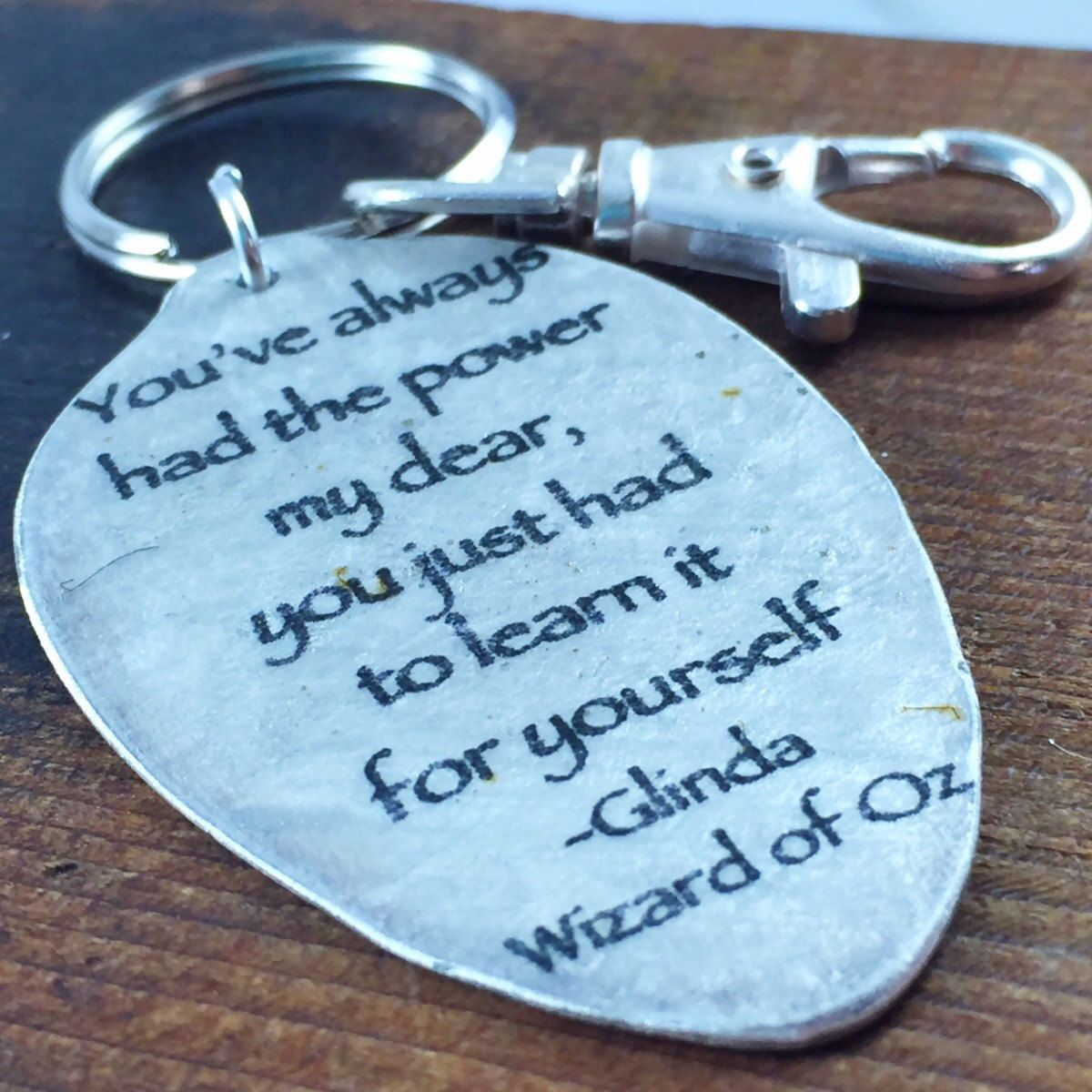 Graduation key chain wizard of oz gifts youve always had