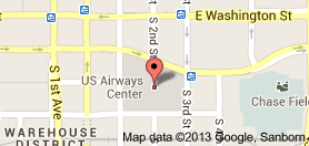 Us Airways Center Places And Spaces In Phoenix Space Map Places - Us-airways-center-map