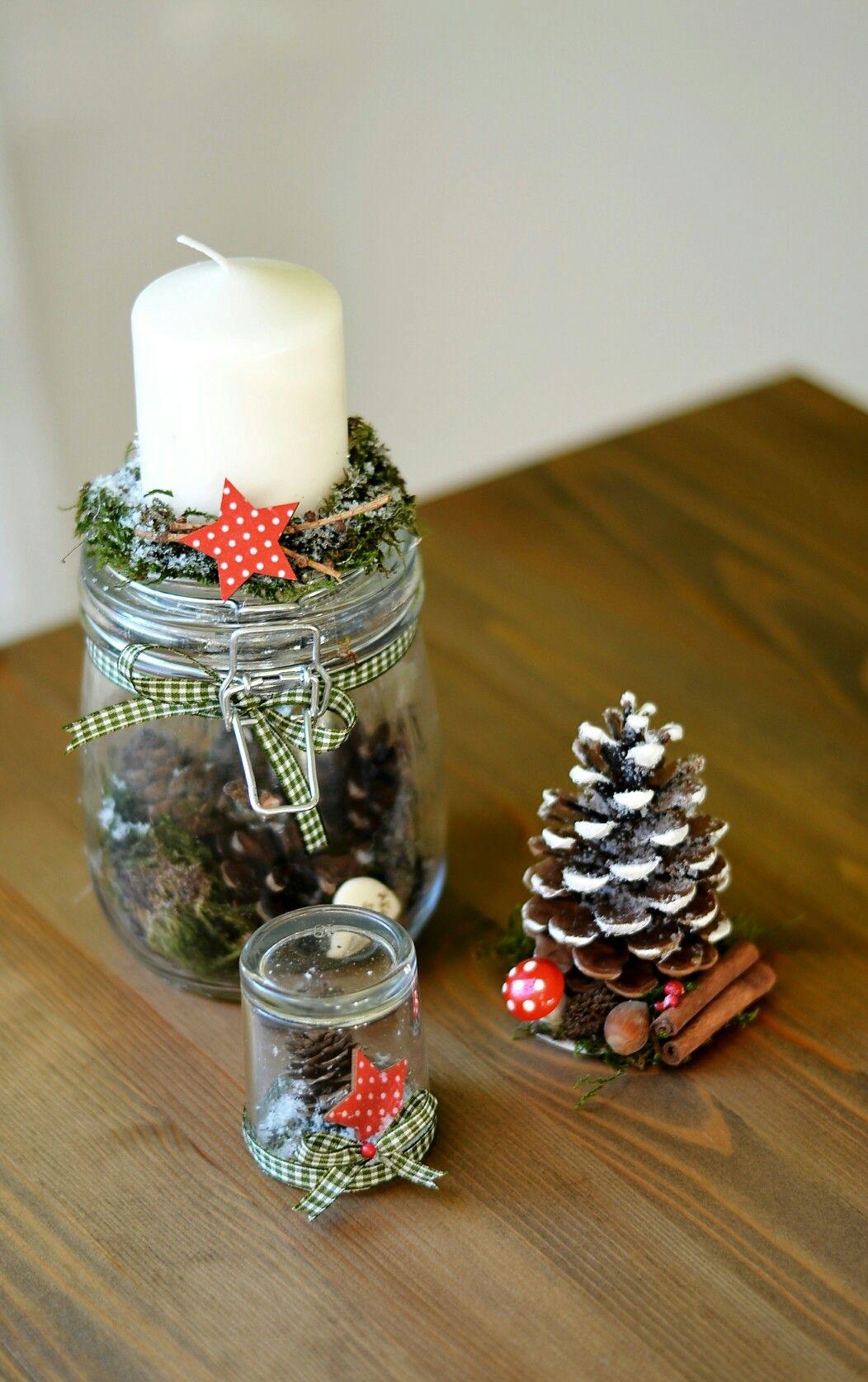 Weihnachten | Deko Weihnachten | Weihnachten im Glas #weihnachtsdekoglas