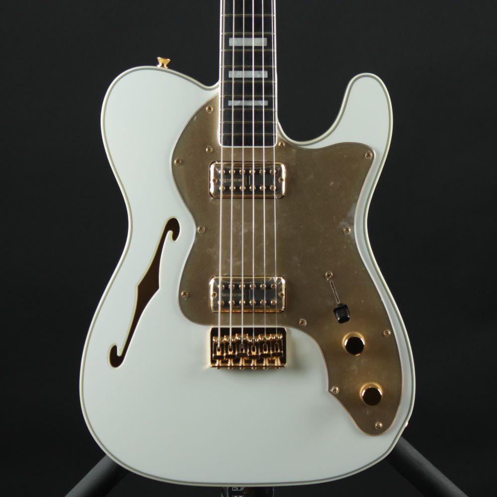 Fender Telecaster Thinline Super Deluxe Olympic White Tele ...