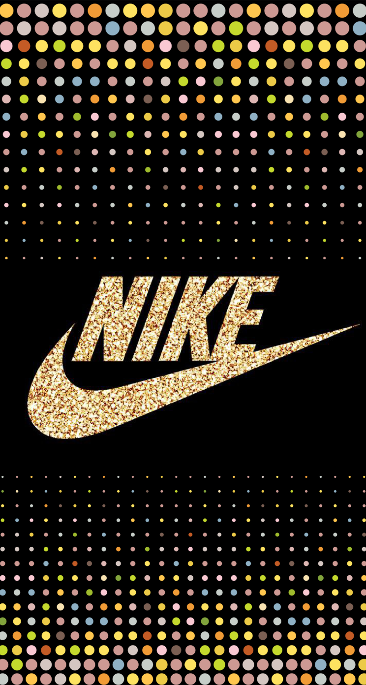 Nike Glitter Sobeautiful Nike Logo Wallpapers Nike Wallpaper Nike Wallpaper Iphone
