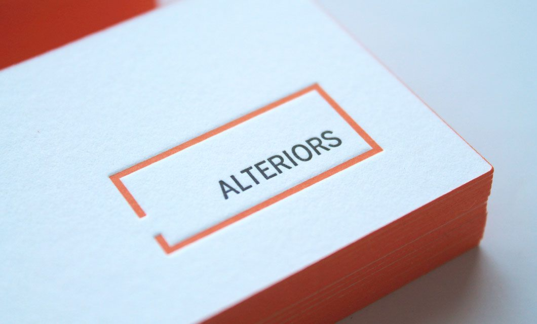 Branding for Ottawa furniture store Alteriors by Ottawa Graphic ...