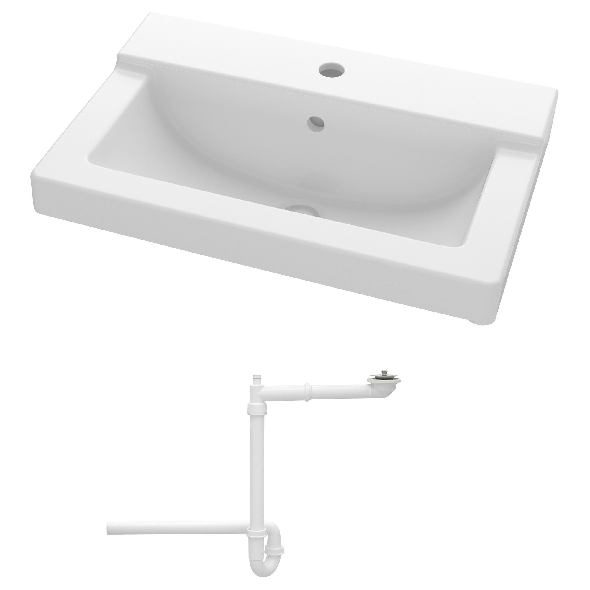 Talleviken Sink 24x16 1 8x3 1 8 Ikea Sinks Sink Ikea Bathroom