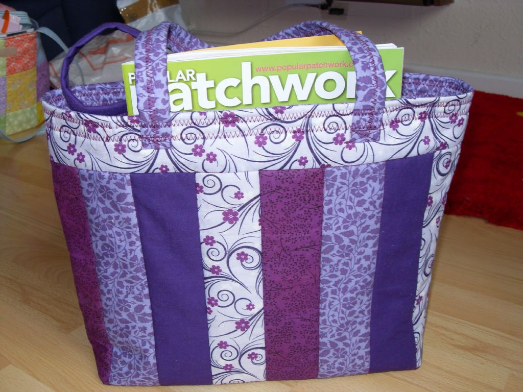 Quiltlove - patchwork quilting, bag making, embroidery, sewing ... : quilting tote - Adamdwight.com