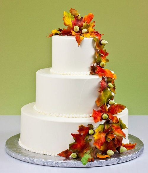 Autumn Wedding Cakes Ideas To Fall In Love With In 2018 Wedding