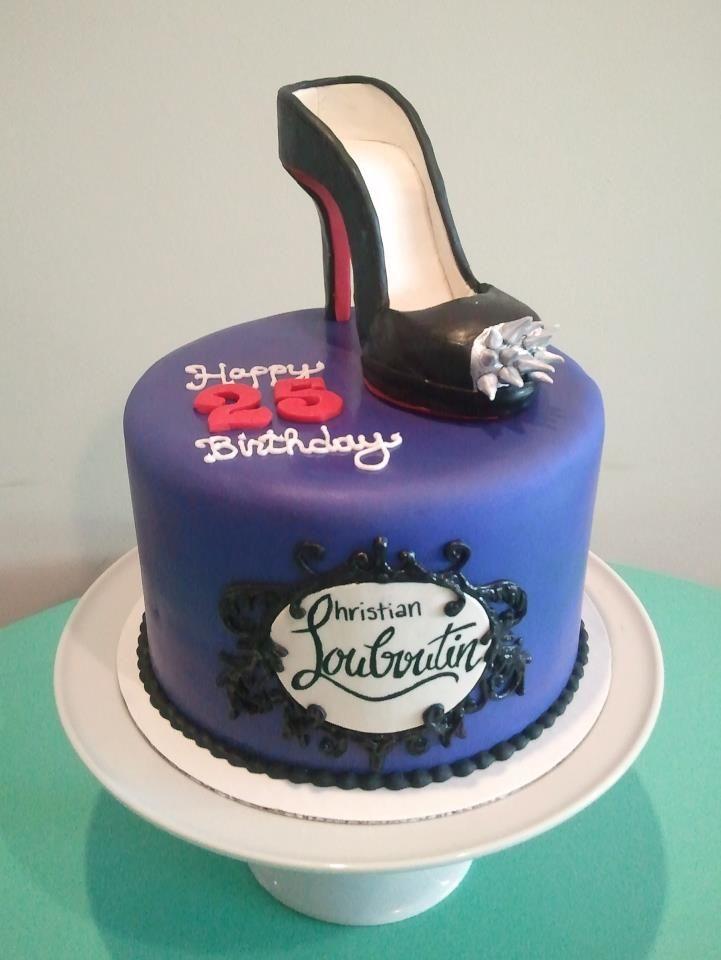 A Fun Christian Louboutin Birthday Cake Hpcs Specialty