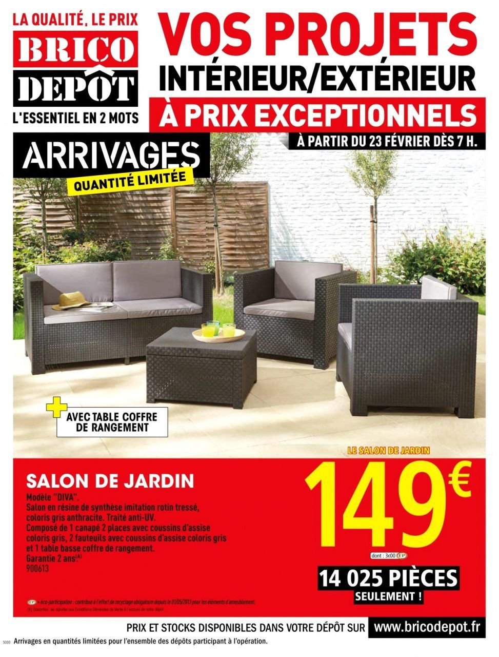 Salon De Jardin Allibert Brico Depot En 2020 Salon De Jardin Salon De Jardin Allibert Salon De Jardin Resine
