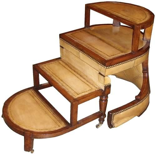 Library Chair Ladder Plans Antique Child Rocking Diy Free Cool Step Download How To Make Your With