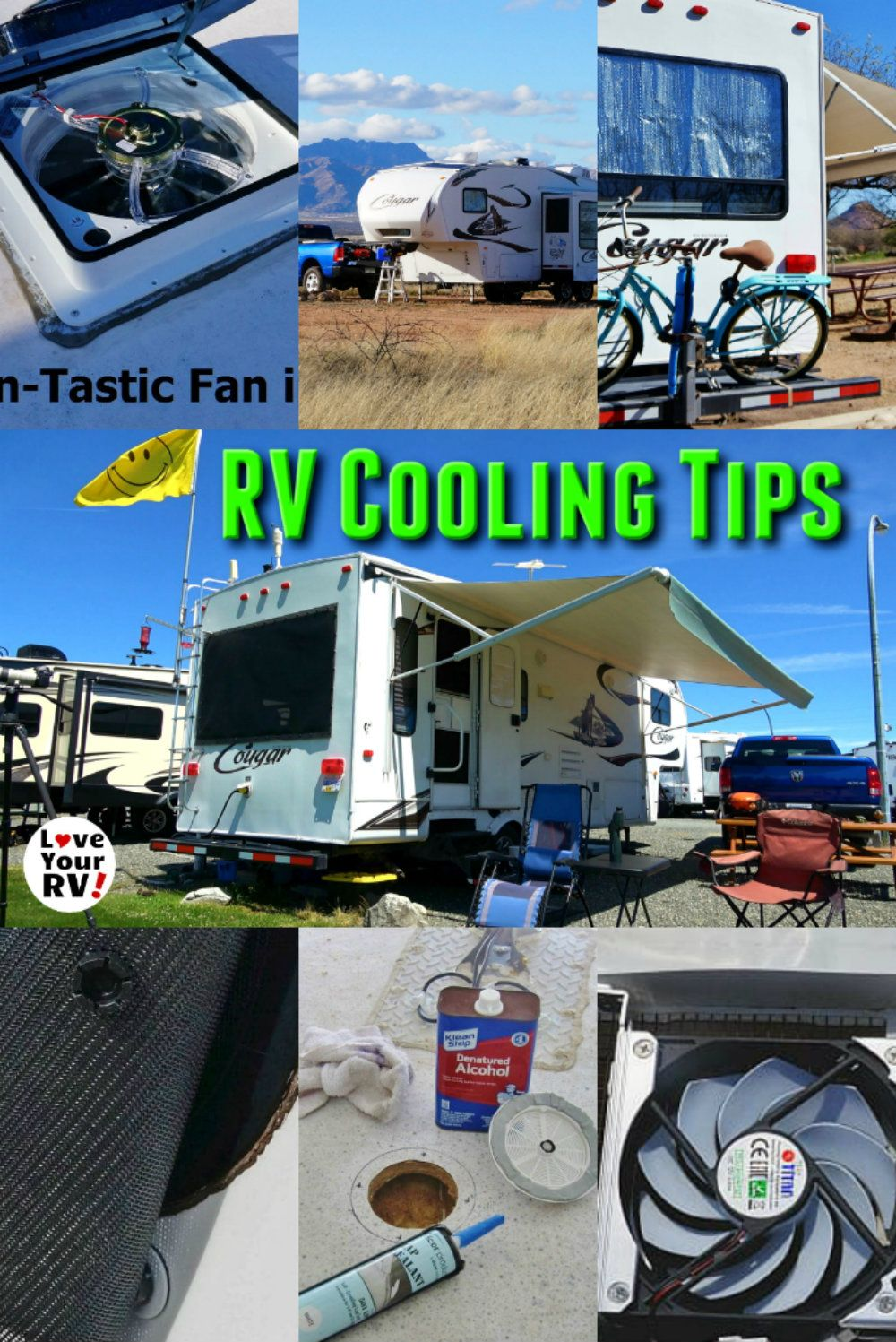 Tips for Keeping the RV Cool Without AC Camper repair