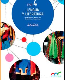 Solucionario Del Libro De Lengua Y Literatura 4 Eso Anaya Lengua Y Literatura Lengua Literatura