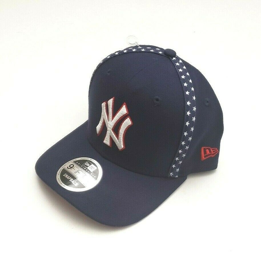 New Era New York Yankees 9fifty Mlb Team Taped Liberty Snapback Hat Navy Osfm Newera Newyorkyankees Yankees Team Mlb Teams New Era Snapback