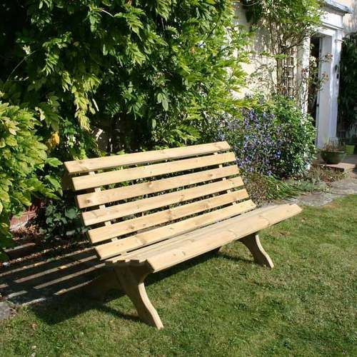 Lilly 3 Seat Outdoor Wooden Garden Bench Garden Seating Garden
