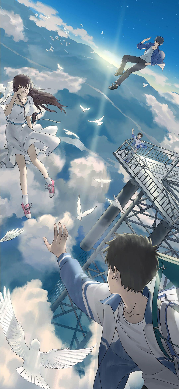 Beautiful Anime Wallpaper Sky Anime Android Wallpaper Anime Anime