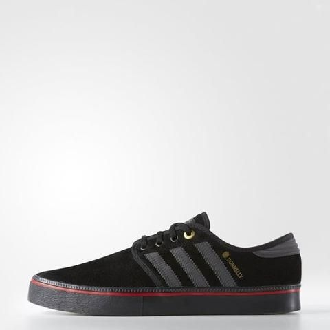 finest selection 3d7a4 5ddca Adidas Mens Seeley ADV Shoes - SpitfireCore Black