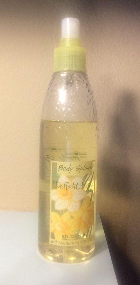 """Rare """"Daffodil Fields"""" Bath & Body Works 8 fl oz"""