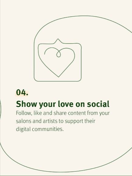 Four ways to support local salons from home
