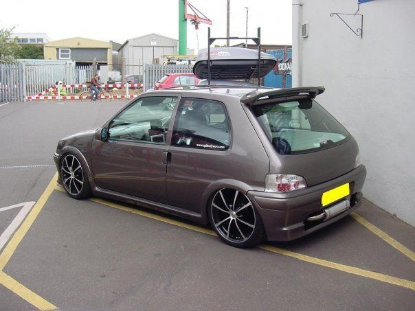 peugeot 106 quicksilver show vehicle with full customer interior and