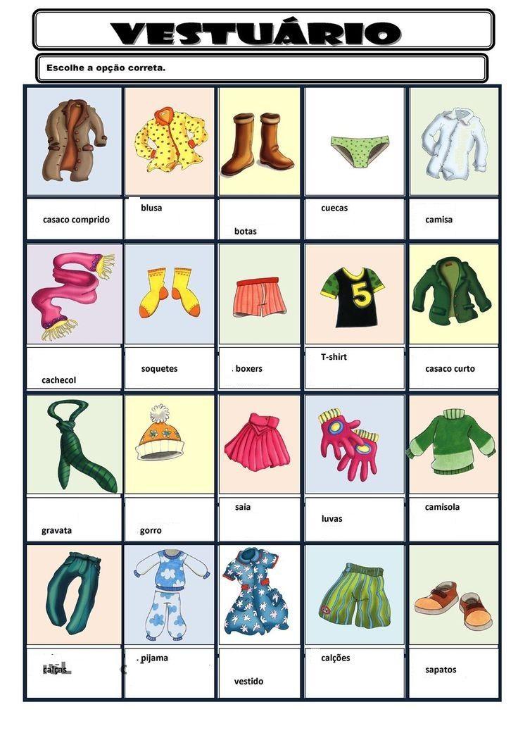 Build Your Brazilian Portuguese Vocabulary | Portugiesisch, Spanisch ...