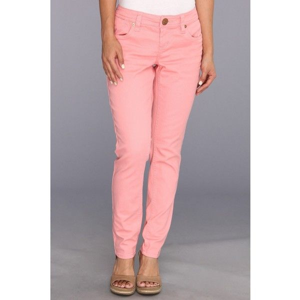 Seven7 Jeans Petite Skinny in Light Coral Women's Jeans, Tan (360 ...
