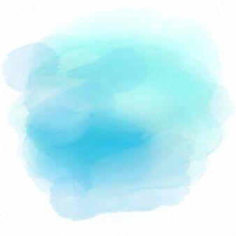 Aquarell Textur Hintergrund In Den Farben Blau Watercolor