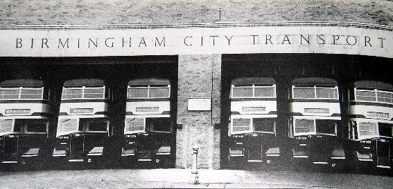 Guy Arabs Birmingham Yardley Wood Bus Garage Classic Black