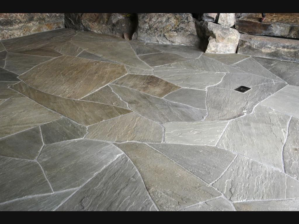 Bluestone Flagstone Sanded Sealed Perfect Kitchen
