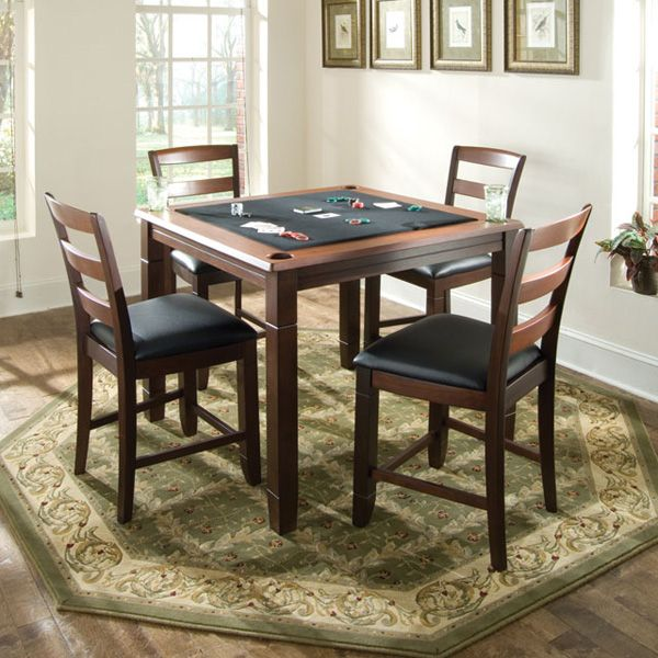 Game Tables by American Heritage, Melrose Game Table | Puzzle table ...