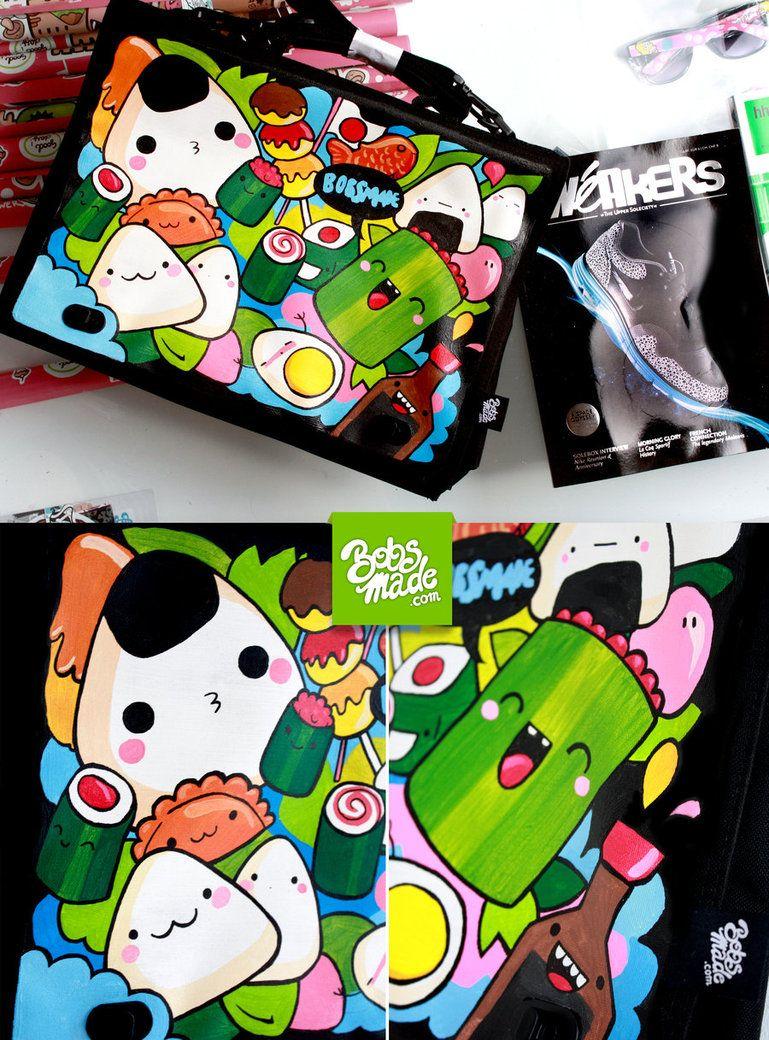 Japan Food Laptop Bag by Bobsmade on DeviantArt