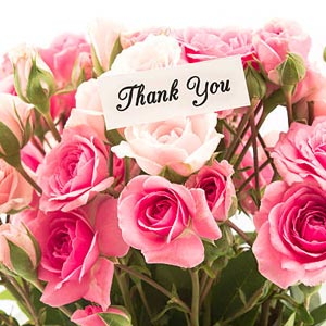 Order Send Thank You Gifts Online Same Day Midnight Delivery Oyegifts Happy Birthday Rose Happy Birthday Flower Birthday Roses
