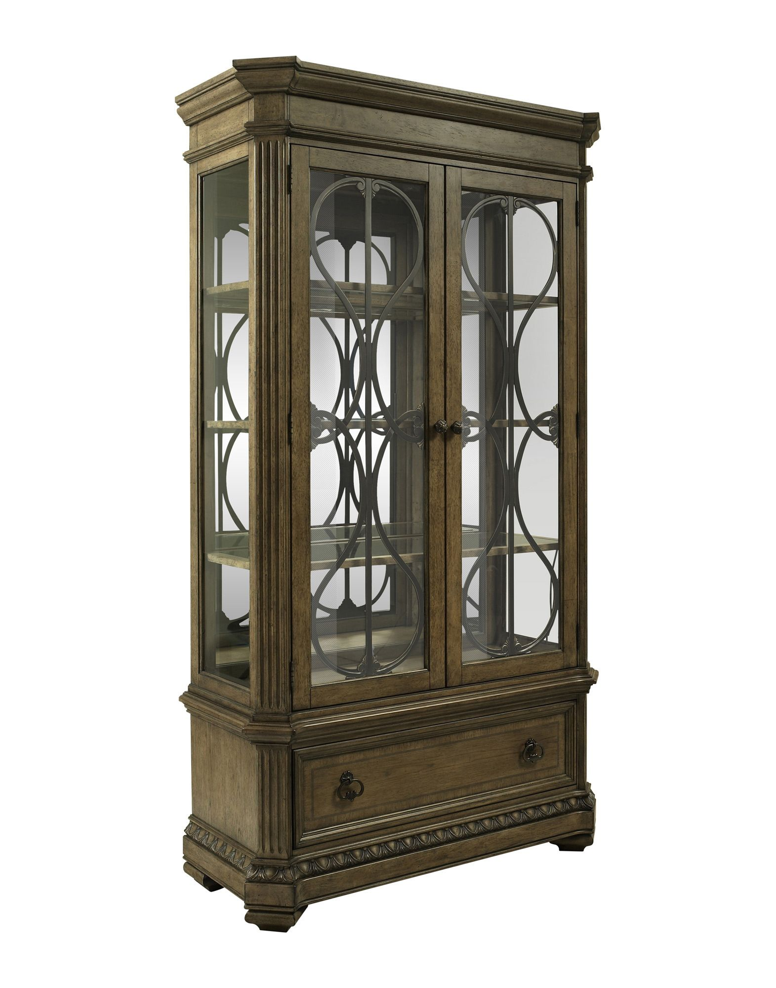 Touraine Curio in Oak | Fairmont Designs Furniture | Home ...