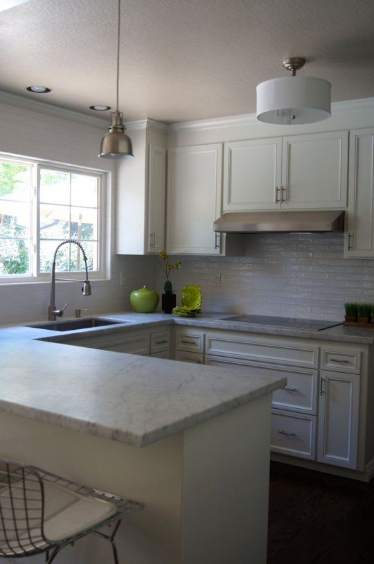 Before & After: A Compact, Updated Kitchen For A Family Of