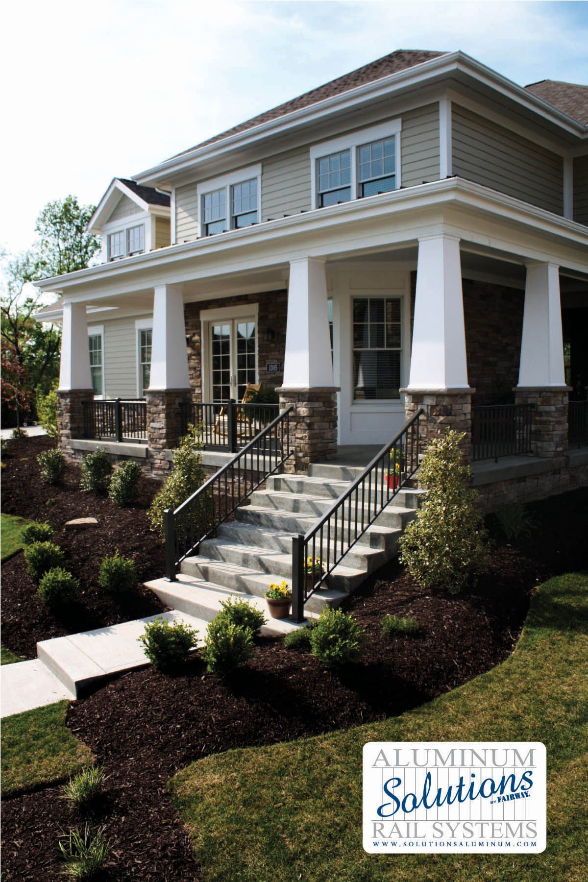 railings img short with porch colums aluminum toronto columns cover