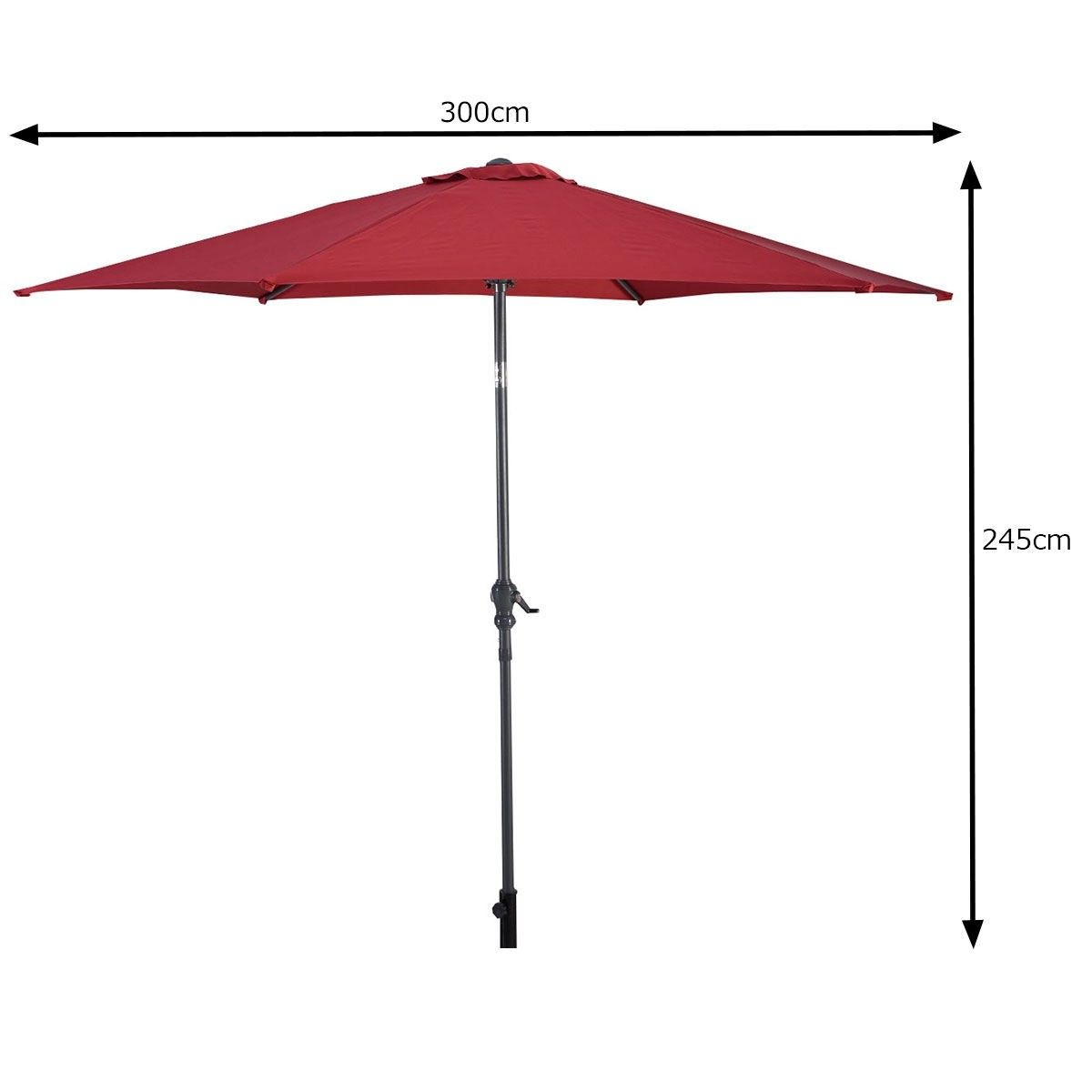 Pin On Market Outdoor Umbrella Double Sided Twin Umbrella With Crank