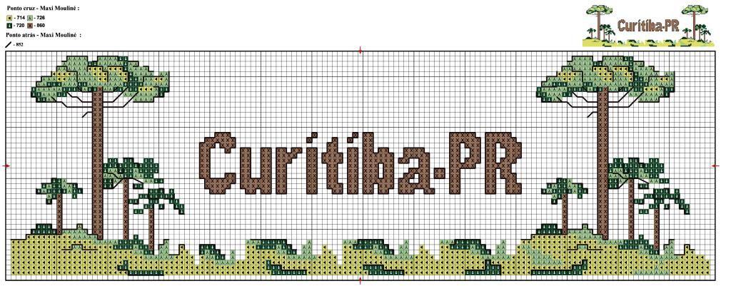 Araucaria - http://www.noseaslinhas.com.br