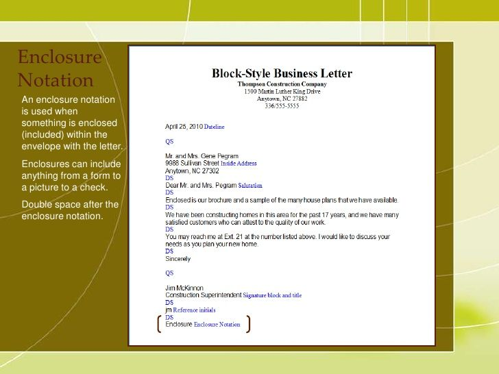 Business Letter Have Sign Recommendation That Will Submitted