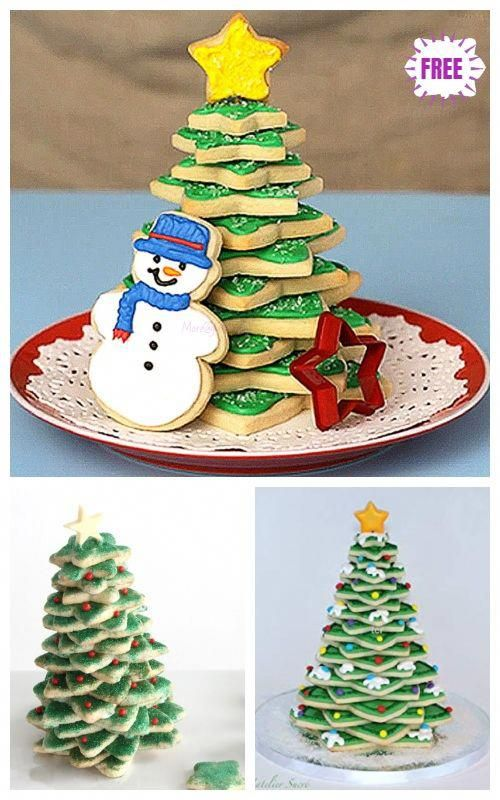 Photo of Christmas Recipe: 3D Cookie Christmas Tree DIY Tutorial – Vi…