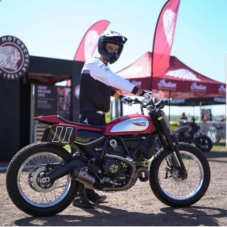 Dtra Ducati Scrambler Flat Track Race Bike Everybody Wants Some