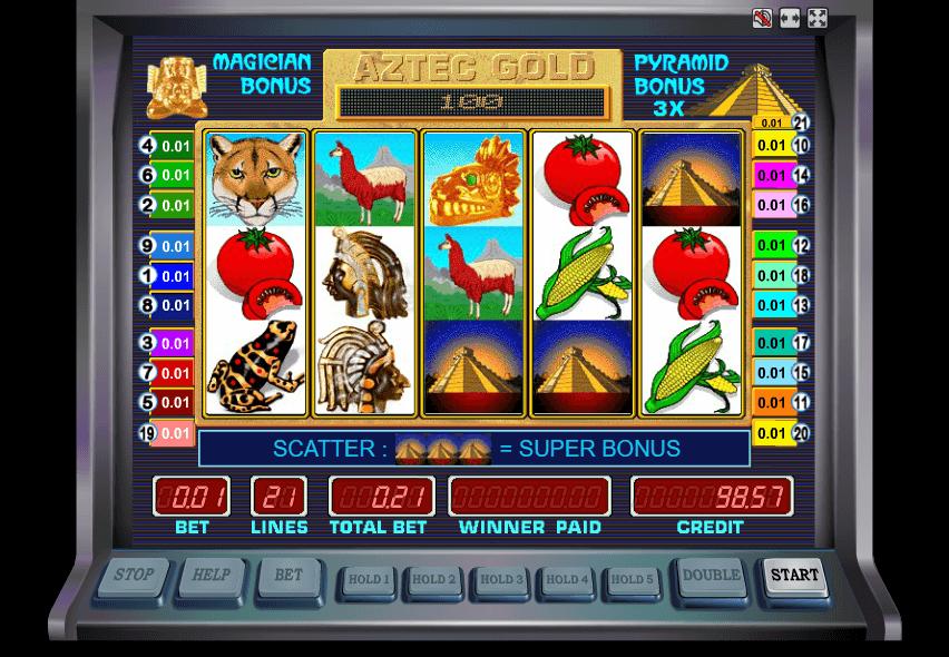 играть в автомат золото ацтеков