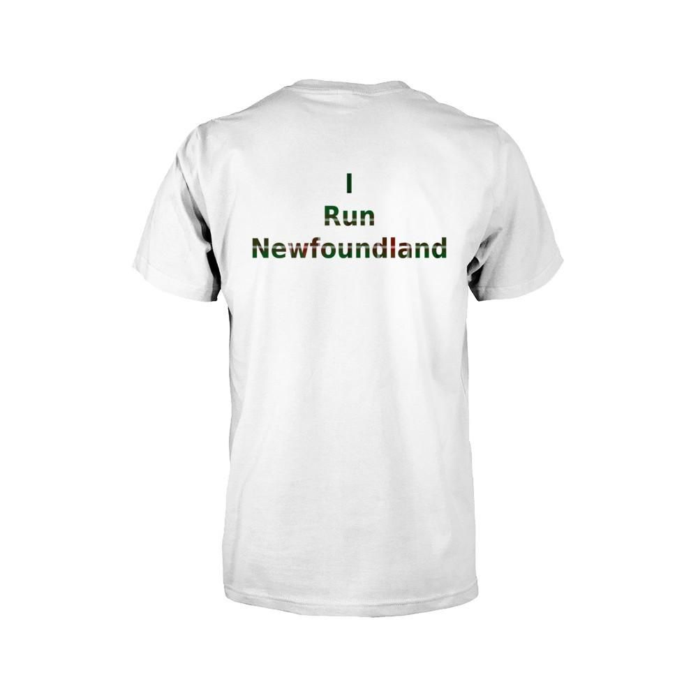 Show Your Nfld Pride With An I Run Newfoundland Tartan Kids T Shirt Available In Yellow Blue Triblend White And Short Sleeve Tee Shirts