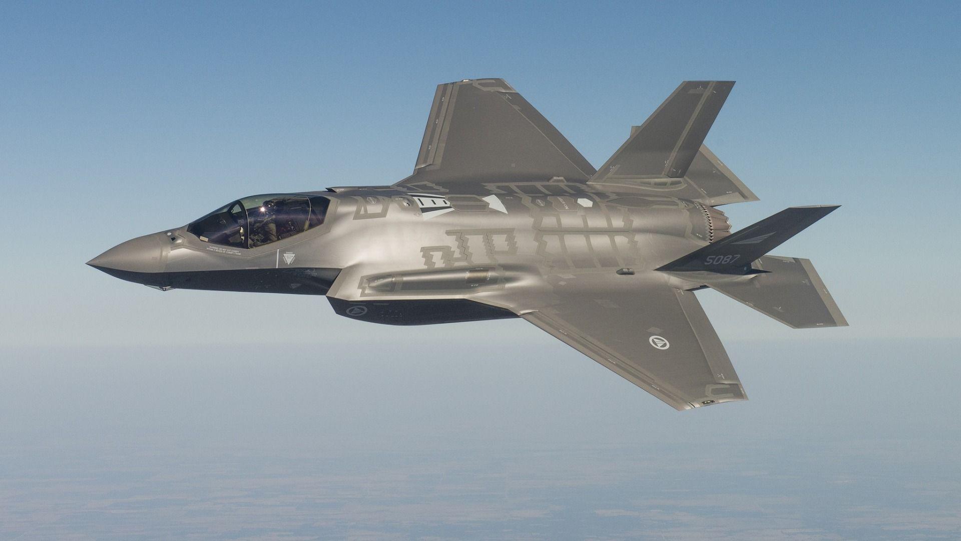 Обои F-35, Самолет 5 поколения, истребитель пятого поколения. Авиация foto 6