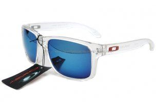 discount oakley sunglasses Holbrook Sunglasses Polished Clear Frame Ice Iridium http://www.saleoakley.net/